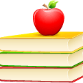 book-apple